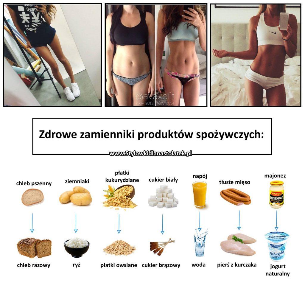 Zdrowe zamienniki produktów spożywczych