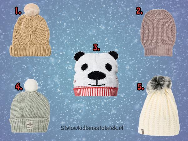Ciepłe czapki na zimę w super cenach!