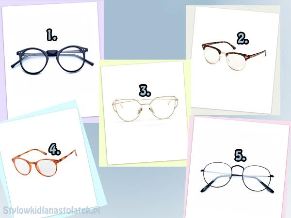 Okulary zerówki w super cenach