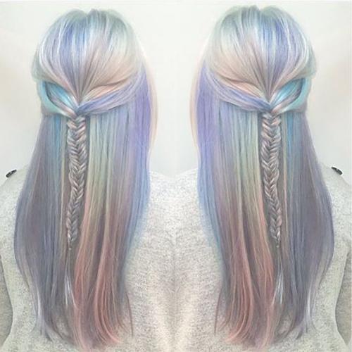 Holograficzne włosy