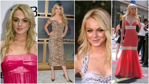 Ewolucja stylu Lindsay Lohan