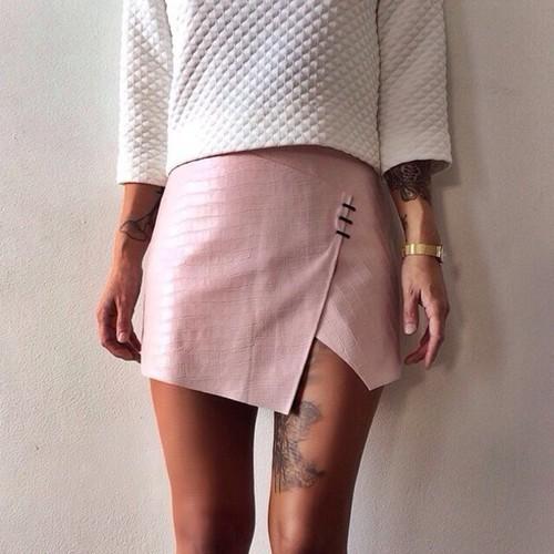 Stylizacje ze spódnicą na lato