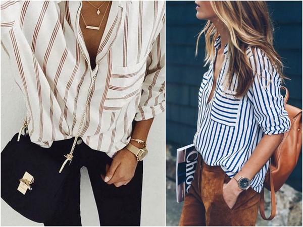 Z czym nosić ubrania w paski