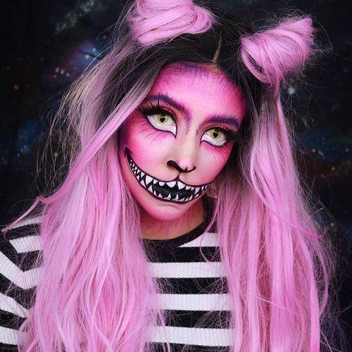 halloweenowy make up