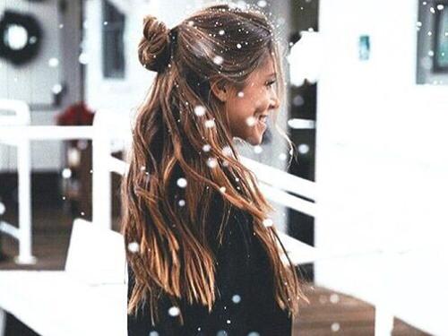 świąteczne fryzury