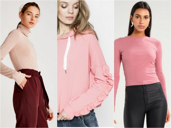 różowe ubrania