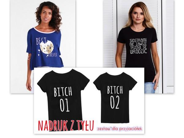 koszulki dla przyjaciółek