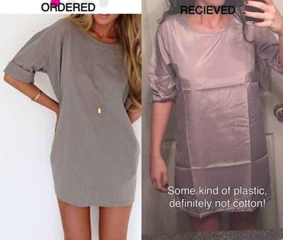 ubrania z sieci