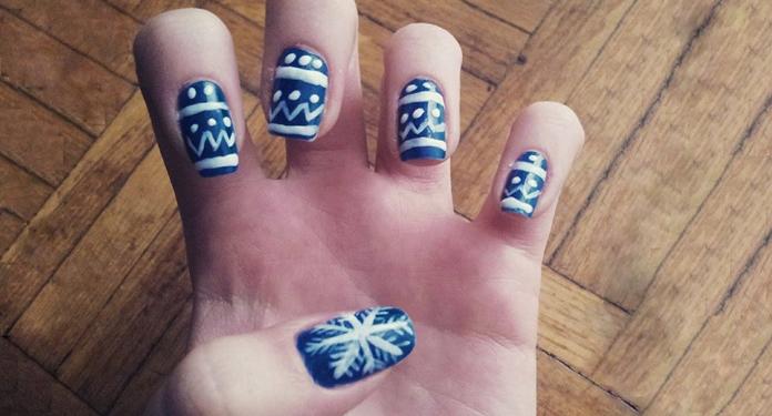 Jak Zrobić Paznokcie śnieżynki Krok Po Kroku Dlanastolatekpl