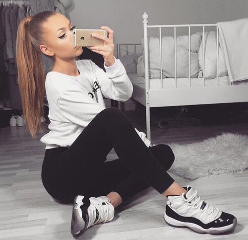 Stylizacje z Nike Jordan