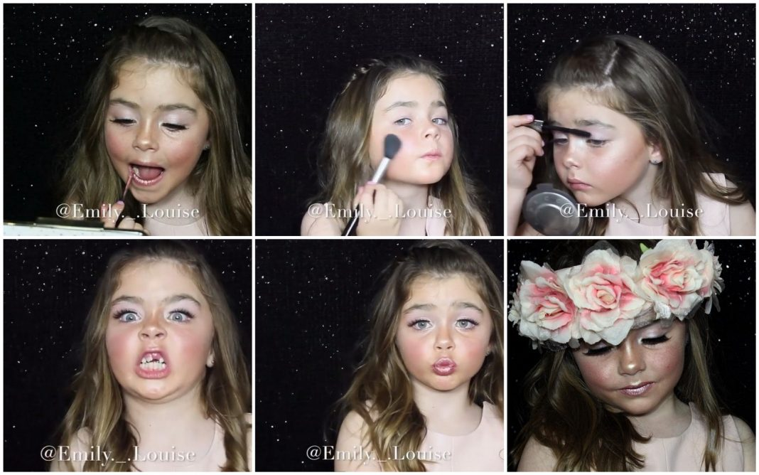 Poznaj 6-latkę, która maluje się lepiej od Ciebie!