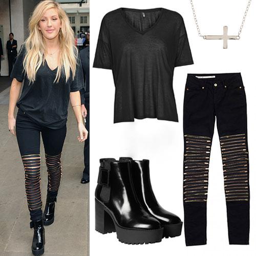 Skradnij jej styl: Ellie Goulding