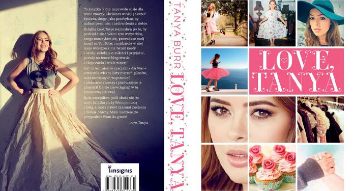"""Książka ,,Love, Tanya"""""""