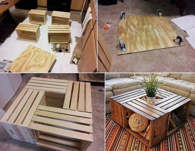 DIY: Skrzynki po owocach
