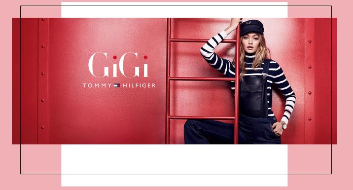 Gigi Hadid dla Tommy Hilfiger