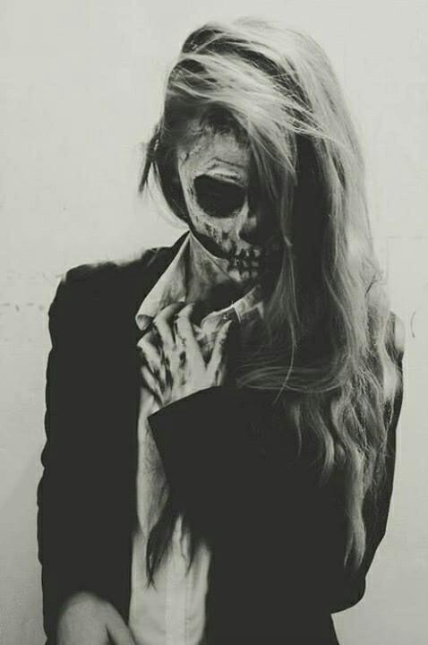 Halloweenowy makijaż - inspiracje!
