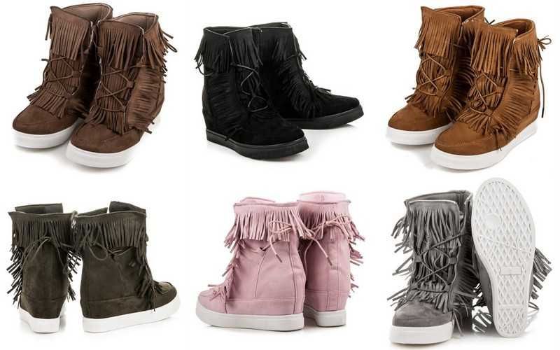 Trendy na jesień: Sneakersy Boho