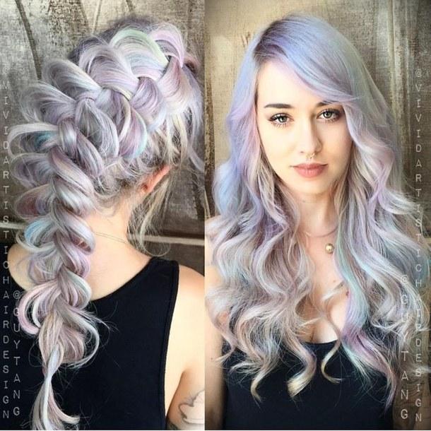 Opal hair