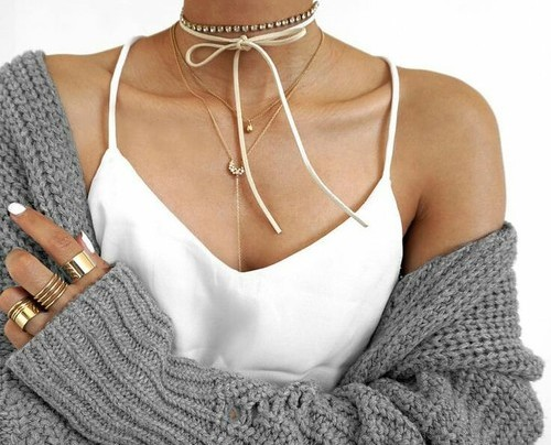 DIY: Naszyjnik typu choker