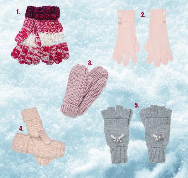 Ciepłe rękawiczki na zimę w super cenach!