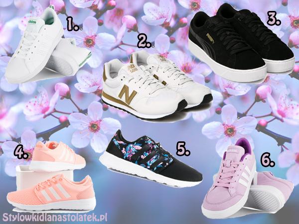 Sportowe buty na wiosnę