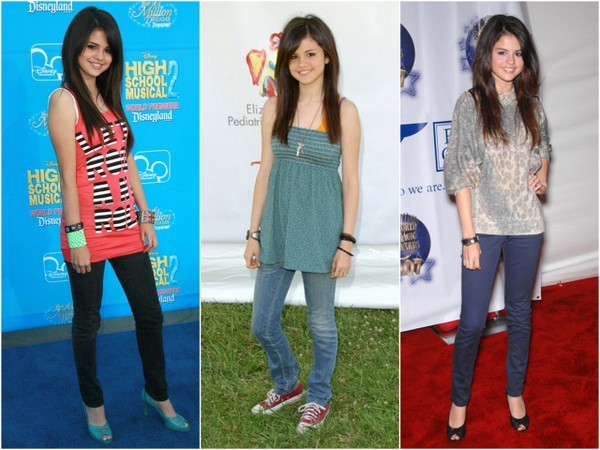 Ewolucja stylu Seleny Gomez