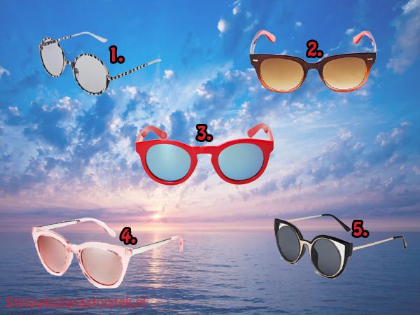 Okulary przeciwsłoneczne w super cenach!