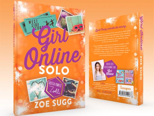 """Konkurs! Wygraj książkę """"Girl Online Solo"""""""