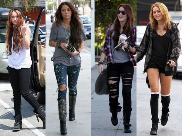 Ewolucja stylu Miley Cyrus