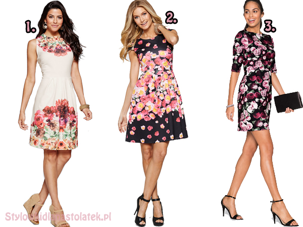 Sukienki w kwiaty do -50% z LaModa!