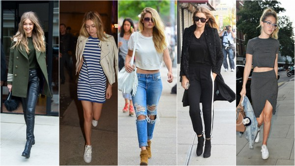 Ewolucja stylu Gigi Hadid