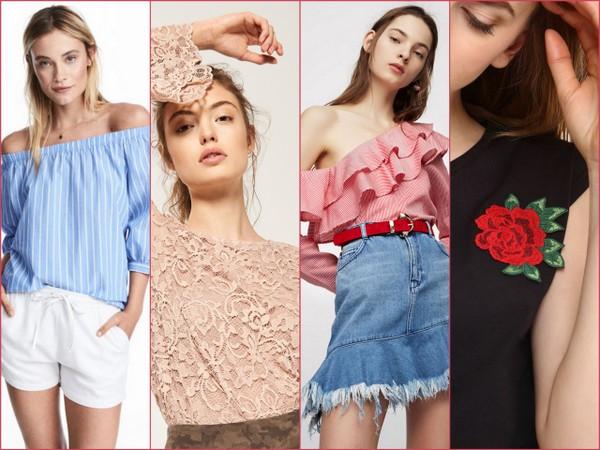 Modne bluzki na wiosnę w super cenach