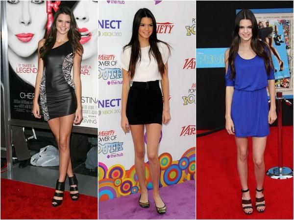 Ewolucja stylu Kendall Jenner