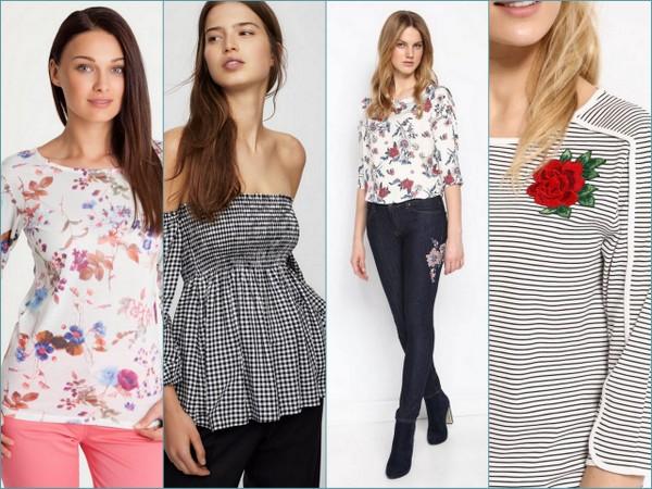42064dda2aeb4f Modne bluzki na wiosnę w super cenach | DlaNastolatek.pl