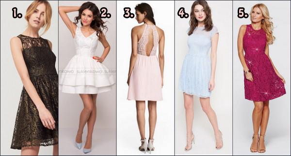 Sukienki idealne na bal gimnazjalny