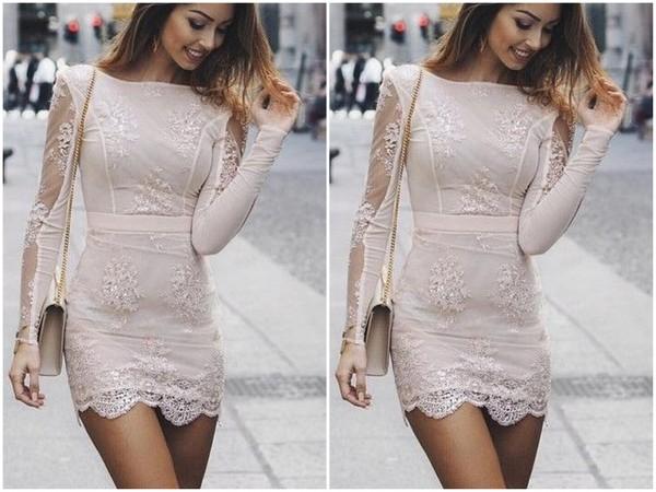 Stylizacje z sukienką