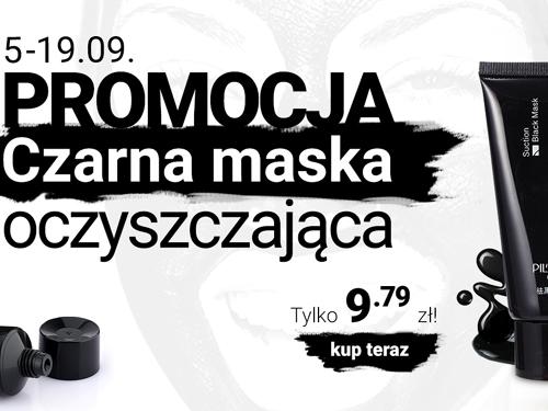 Czarna maska oczyszczająca w super cenie!
