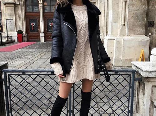 Jak nosić sukienki zimą?