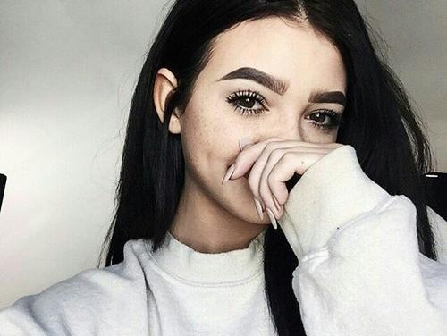 Makijaż dla pieguski