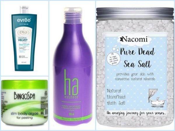 Kosmetyki z morskimi składnikami