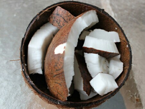 płukanie ust olejem kokosowym