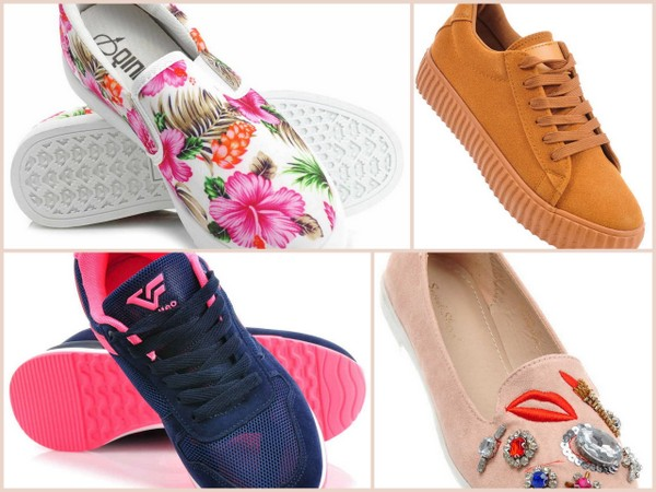 Wiosenna kolekcja butów