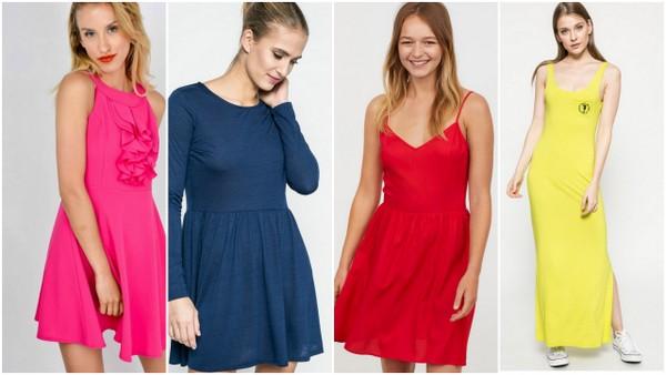 Kolorowe sukienki