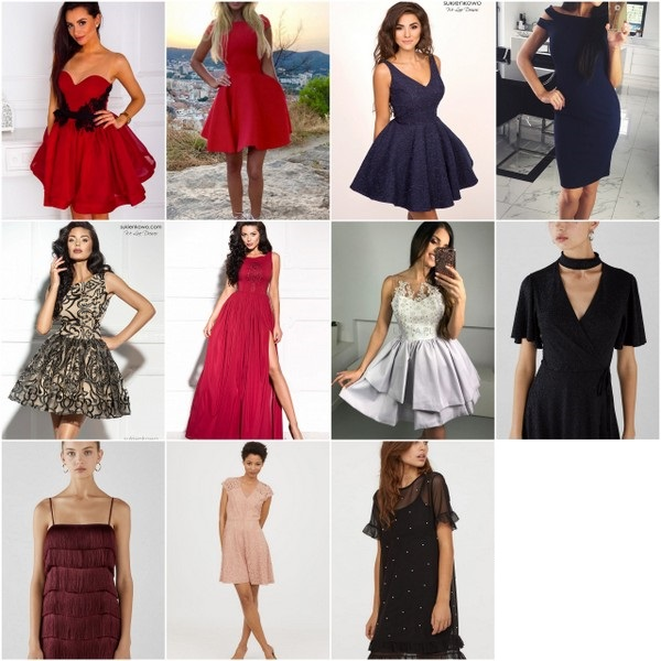 modne sukienki na półmetek
