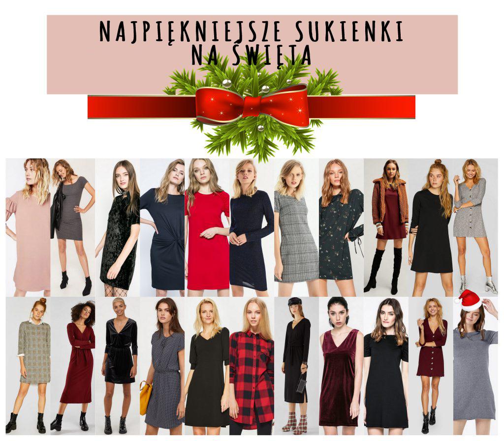 Najpiękniejsze sukienki na Święta