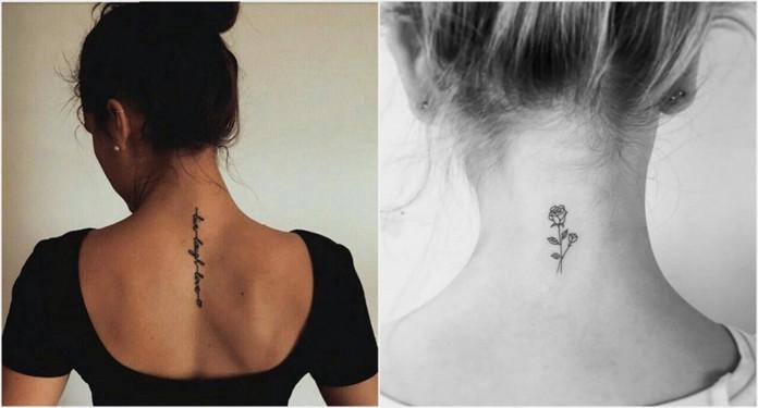 Dziewczęce Tatuaże Idealne Na Kark Dlanastolatekpl