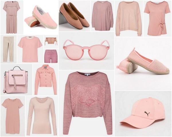 Różowe ubrania na wiosnę