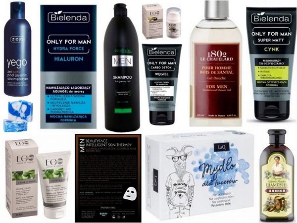 Kosmetyki idealne dla chłopaka