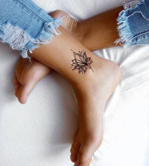 Dziewczęce Tatuaże Idealne Na Stopę Dlanastolatekpl