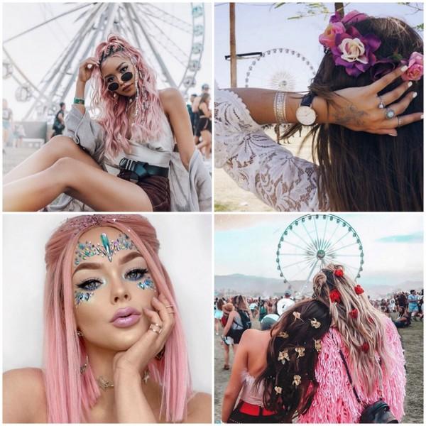 festiwalowy makijaż